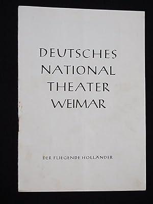 Programmheft 1 Deutsches Nationaltheater Weimar 1960/61. DER: Herausgegeben von der
