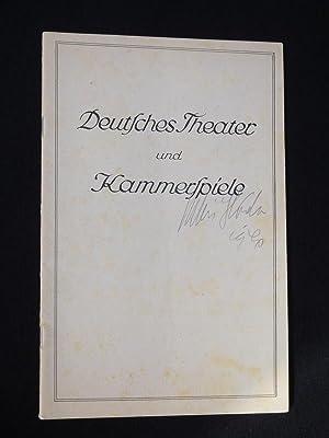 Blätter des Deutschen Theaters und der Kammerspiele, Heft 11, 1939/40. Programmheft K&...