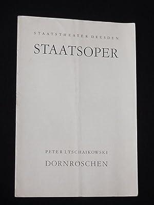 Blätter der Staatstheater Dresden. Heft 1, Reihe: Staatstheater Dresden Staatsoper,