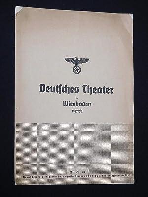 Programmheft 2 Deutsches Theater in Wiesbaden 1937/38.: Deutsches Theater in