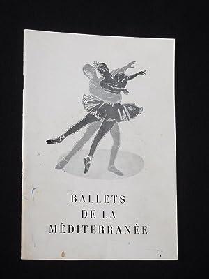 Programmheft Ballets de la Mediterranee Paris, Gastspiel: Theater- und Konzert-Agentur