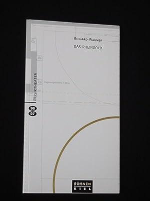 Programmbuch Bühnen der Landeshauptstadt Kiel 1996/ 97.: Herausgegeben von den