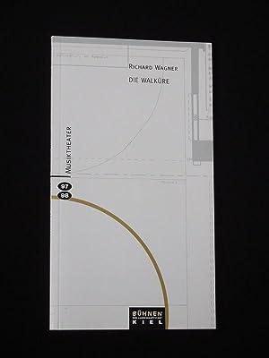 Programmbuch Bühnen der Landeshauptstadt Kiel 1997/ 98.: Herausgegeben von den