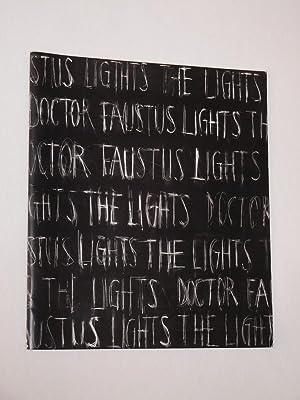 Programmheft Hebbel-Theater 1991/92. DOCTOR FAUSTUS LIGHTS THE: Herausgeber: Hebbel-Theater Berlin