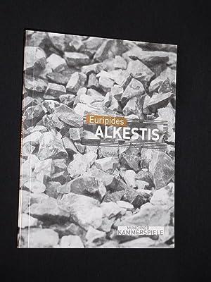 Programmbuch Münchner Kammerspiele 2001/02. ALKESTIS von Euripides.: Münchner Kammerspiele, Intendant: