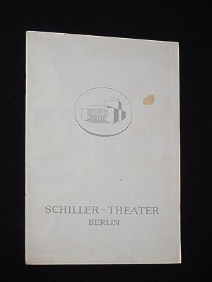 Programmheft 53 Schiller-Theater Berlin 1955/ 56. KÖNIG: Herausgegeben von der
