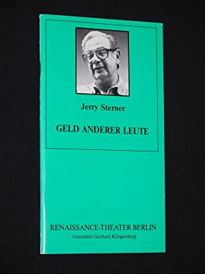 Programmheft 7 Renaissance-Theater Berlin 1993/ 94. GELD: Herausgeber: Neue Theater-Betriebs