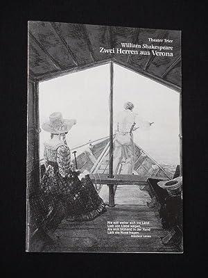 Programmheft 2 Theater der Stadt Trier 1983/84.: Herausgeber: Intendant Rudolf
