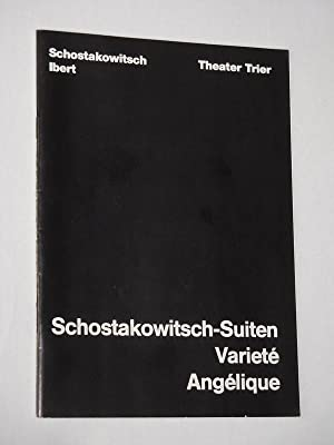 Programmheft 5 Theater der Stadt Trier 1983/84.: Herausgeber: Intendant Rudolf