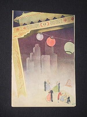 Programmheft Metropol-Theater Berlin 1947. NÄCHTE IN SHANGHAI: Metropol- Theater Berlin,
