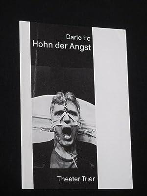 Programmheft 4 Theater der Stadt Trier 1987/88.: Herausgeber: Intendant Rudolf