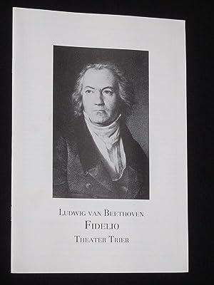 Programmheft 2 Theater Trier 1989/90. FIDELIO nach: Herausgeber: Intendant Rudolf