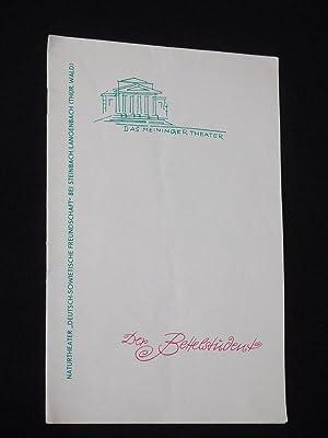 Programmheft 8 Das Meininger Theater 1963/64. DER: Das Meininger Theater,