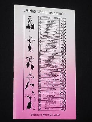 Programmheft 3 Bühnen der Hansestadt Lübeck 1973/74.: Herausgeber: Bühnen der