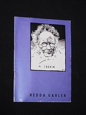 Programmheft Renaissance-Theater 1964/65. HEDDA GABLER von Ibsen.: Renaissance-Theater Berlin, Intendant: