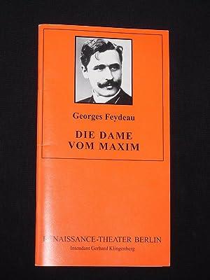 Programmheft 5 Renaissance-Theater Berlin 1994/95. DIE DAME: Herausgeber: Neue Theater-Betriebs