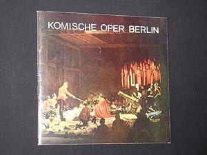 Komische Oper Berlin, Spielzeit 1974/75 [Jahresheft]: Komische Oper Berlin,