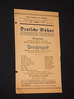 Deutsche Bühne im Kampfbund für deutsche Kultur: Freilicht-Bühne Spandau an