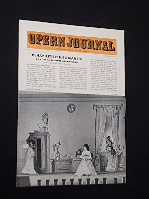 Das Opernjournal der Deutschen Oper Berlin [Opern-Journal]. Informationen, Bilder, Essays. Nr. 4,...
