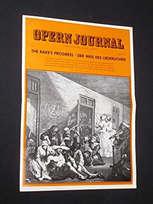Das Opernjournal der Deutschen Oper Berlin [Opern-Journal]. Informationen, Bilder, Essays. Nr. 8,...