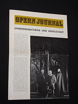 Das Opernjournal der Deutschen Oper Berlin [Opern-Journal]. Informationen, Bilder, Essays. Nr. 9,...