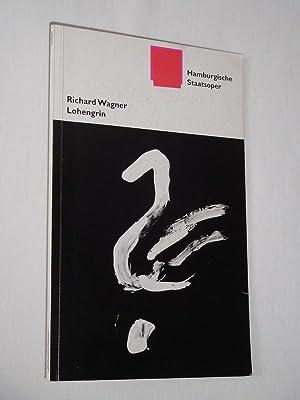 Programmbuch Hamburgische Staatsoper 1997/98. LOHENGRIN von Wagner.: Hamburgische Staatsoper, Staatsopernintendant: