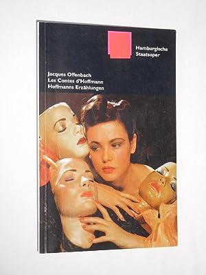 Programmbuch Hamburgische Staatsoper 1998/99. LES CONTES D'HOFFMANN: Herausgeber: Hamburgische Staatsoper