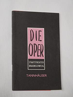 Programmheft Staatstheater Braunschweig/ Die Oper 1993/ 94.: Herausgeber: Staatstheater Braunschweig,