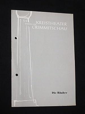 Programmheft 15 Kreistheater Werdau 1957/ 58. DIE: Kreistheater Werdau, Sitz