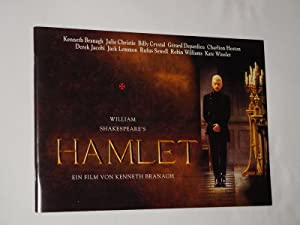 Programmheft Film WILLIAM SHAKEPEARE'S HAMLET. Regie/ Bearb.: Kenneth Branagh. Mit Kenneth Branag...