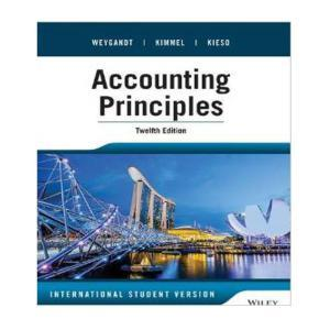 Accounting Principles: Weygandt, Jerry J.;