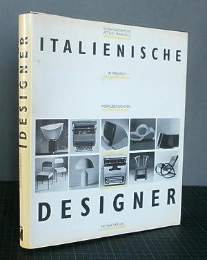 Italienische Designer. Interviews, Werkübersichten: Giacomoni, Silvia und