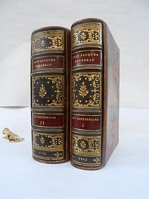 Les Confessions. Edition intégrale publiée sur les: Rousseau, J.-J.
