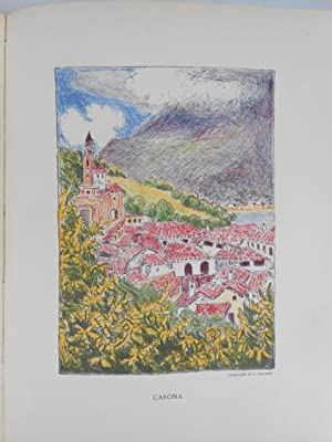 Vacances d?Artistes. Tessin, Valais, Vaud, Genève.: Baud-Bovy, Daniel.