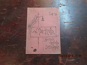 La Martinella, Giornale-opuscolo. Anno I n° 13.: LA MARTINELLA