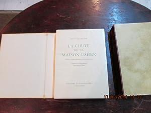 La chute de la Maison Usher.: POE Edgar Allan.DUBOUT.