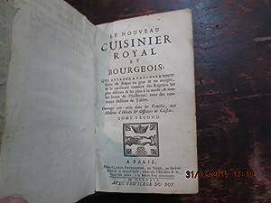 Le Nouveau Cuisinier Royal et Bourgeois.Tome second: PRUDHOMME Claude
