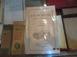 Le Juif de Verone ou les Sociétés: BRESCIANI A.