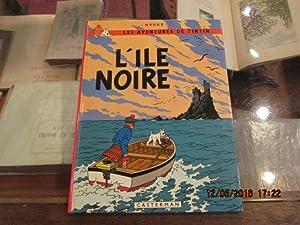 Les aventures de Tintin.L'île noire.: HERGE