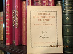 Journal d'un Bourgeois de Paris sous Charles: MARY André