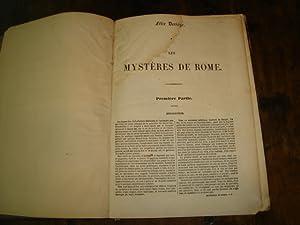 Les Mystères de Rome: DERIEGE Félix