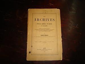 Les archives du Consulat Général de France à Alger.: DEVOULX, Albert