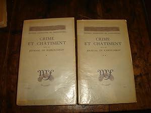 Crime et Châtiment suvi du Journal de Raskolnikov.: DOSTOIEVSKI
