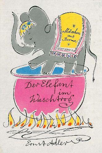 Der Elefant im Waschtrog. Märchen aus Burma.: Klemke, Werner.