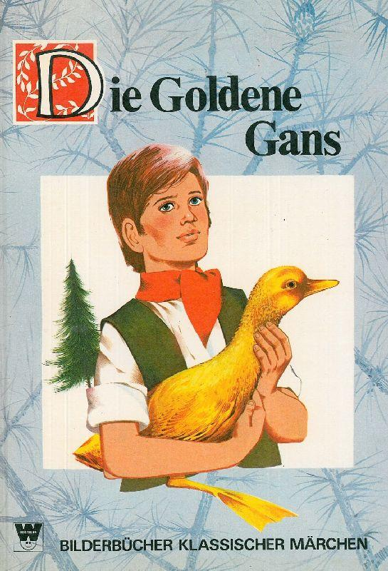 Die goldenen Gans. Bilderbücher klassischer Märchen