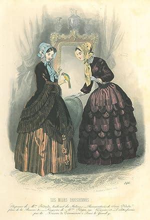 mode zwei junge frauen in dunklen kleidern die eine hat. Black Bedroom Furniture Sets. Home Design Ideas