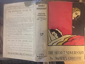 The Secret Adversary. SIGNED BY AGATHA CHRISTIE: Agatha Christie. Signed
