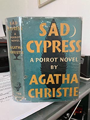 Sad Cypress. Signed inlaid card.: Agatha Christie. Signed