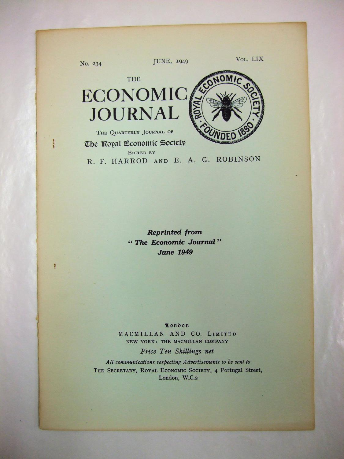 quarterly journal of economic essays Susan athey and glenn ellison in quarterly journal of economics, 126(3)  glenn ellison rand journal of economics (spring 1994), vol essays in honor of ar.