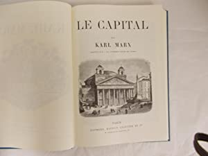 Le Capital. Traduction de M. J. Roy,: Marx, Karl